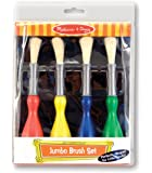 Melissa & Doug Jumbo Paint Brushes (set of 4)