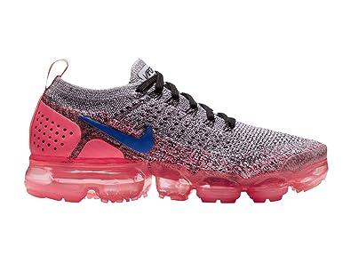 356d2766244e ... sneakers 69120 a64d5  closeout nike womens air vapormax flyknit 2 white  ultramarine hot punch black nylon running 6ba0c 18895