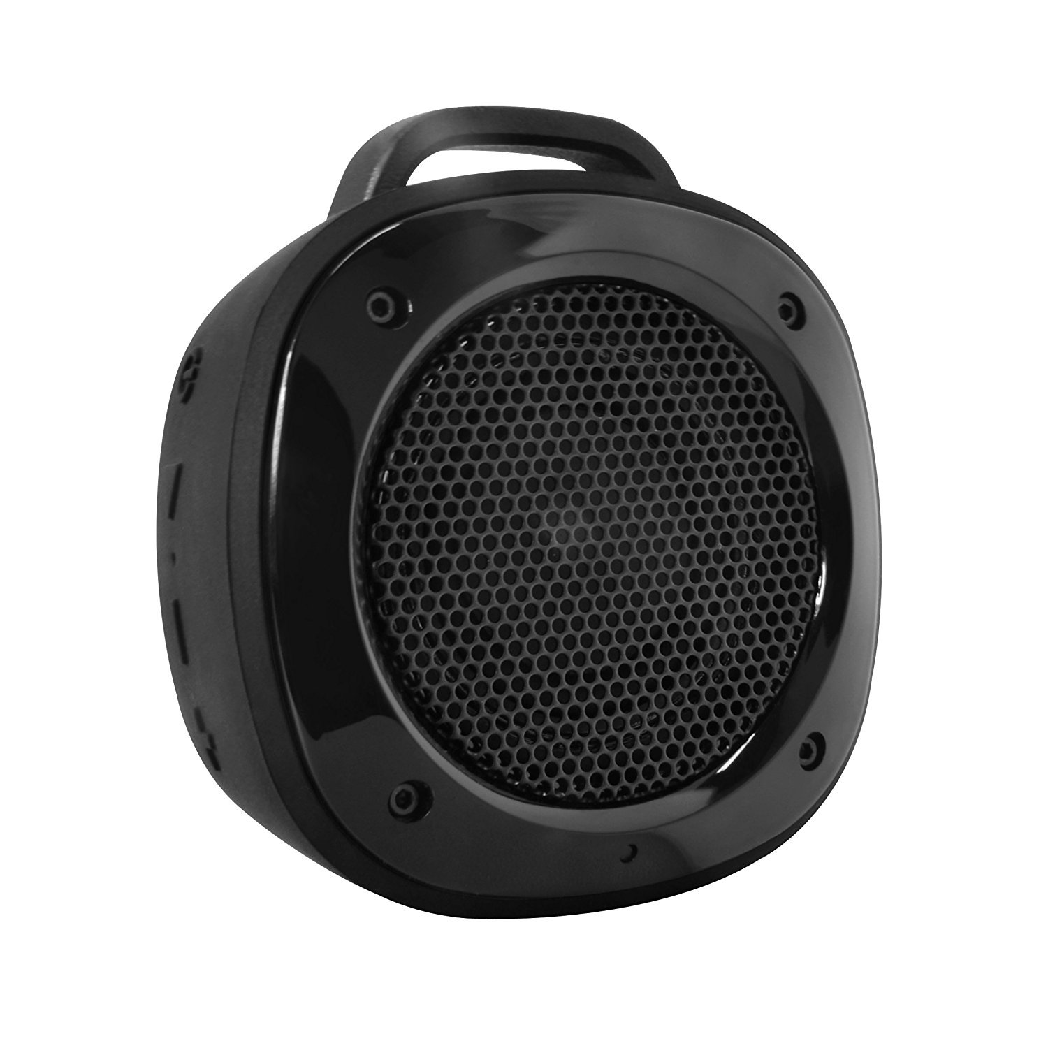 Divoom Airbeat-10 Water Resistant Bluetooth 3.0 Portable Speaker, with Suction Cup for Showers, Bike Mount speaker for Smartphone, iPhone, Galaxy, LG, iPad, Tablet PC (Black)