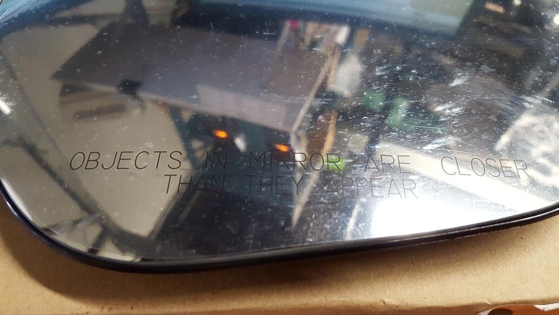 2009-2014 NISSAN CUBE 2011-2014 NISSAN JUKE Convex Passenger Side Replacement Mirror Glass