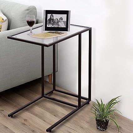 Soggiorno Mobili per Camera da Letto in Legno 30 x 45 x 68 cm Comodino con 1 cassetto 2 Ripiani Tavolino Moderno Tavolino da caff/è per Camera da Letto