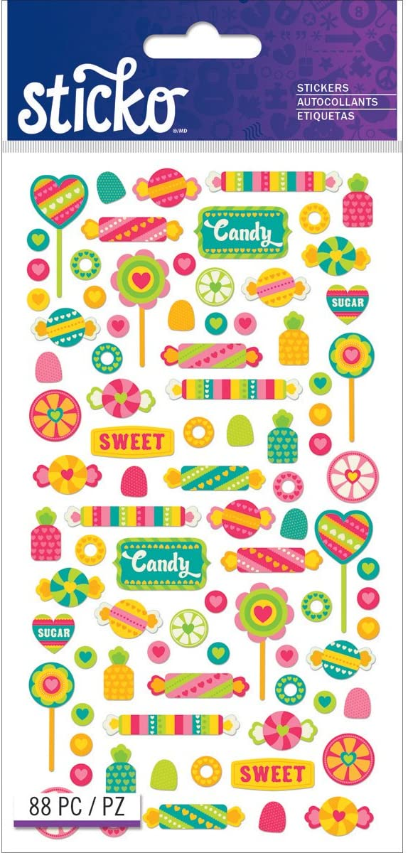 Sticko Classic Tiny Candy Stickers