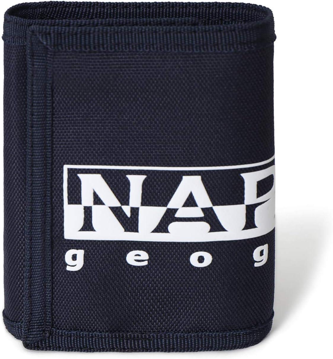 Black Negro Napapijri HAPPY WALLET Monedero 27 cm