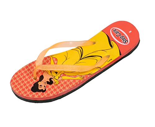 dac2390fe12bf7 Indistar Women s Step Care Soft Rubber Flip-Flops and House Slippers Hawaii  Flip-Flops