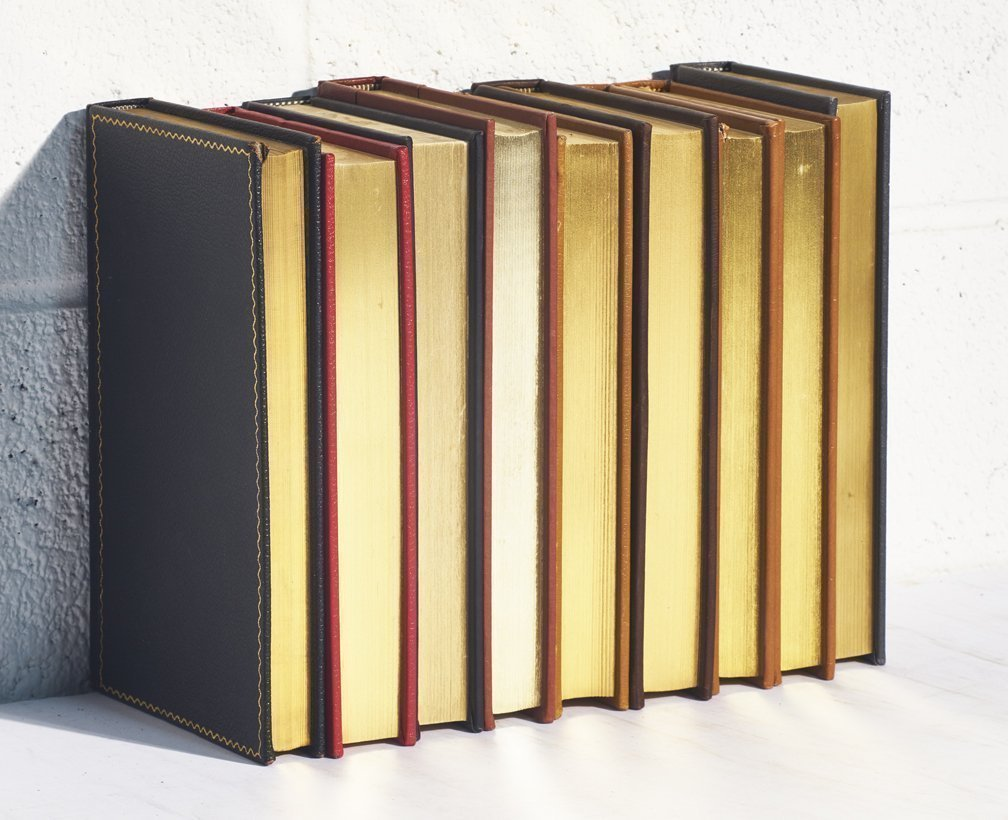 Decorative Books for Designers Gold Leaf