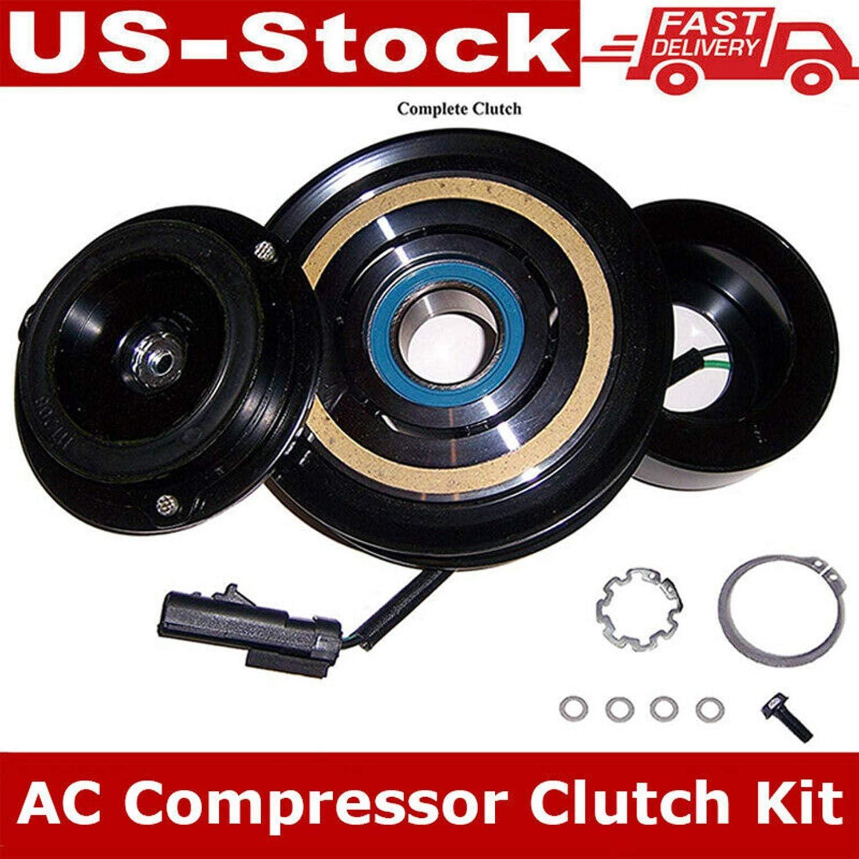 2008-2010 Jeep Commander 3.7L 4.7L AC Compressor Clutch Kit Pulley Coil Plate