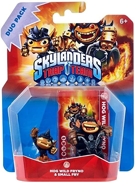 Figuras Skylanders Trap Team Duo Pack: Hog Fryno & Small Fry: Amazon.es: Informática
