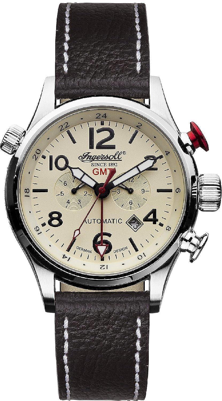 [インガソール]Ingersoll 腕時計 Lawrence Analog Display Chinese Automatic Black Watch IN3218CR メンズ [並行輸入品] B016E4OYDY