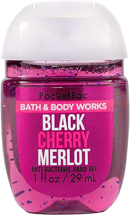 Bath Body Works Pocketbac Hand Sanitizer Gel Black Cherry Merlot