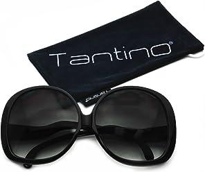 bec435ed36 Tantino Big Huge Oversized Square Sunglasses Retro Women Celebrity Fashion