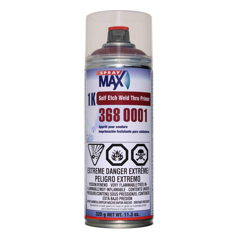 Spray MAX 1k Self Etch Weld-Thru Primer (Red Brown) - 3680001