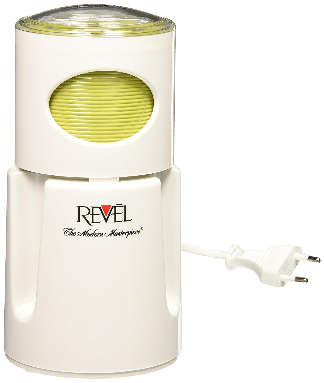 Revel CCM104 220-volt Wet and Dry Coffee Spice Grinder, White Gandhi - Appliances