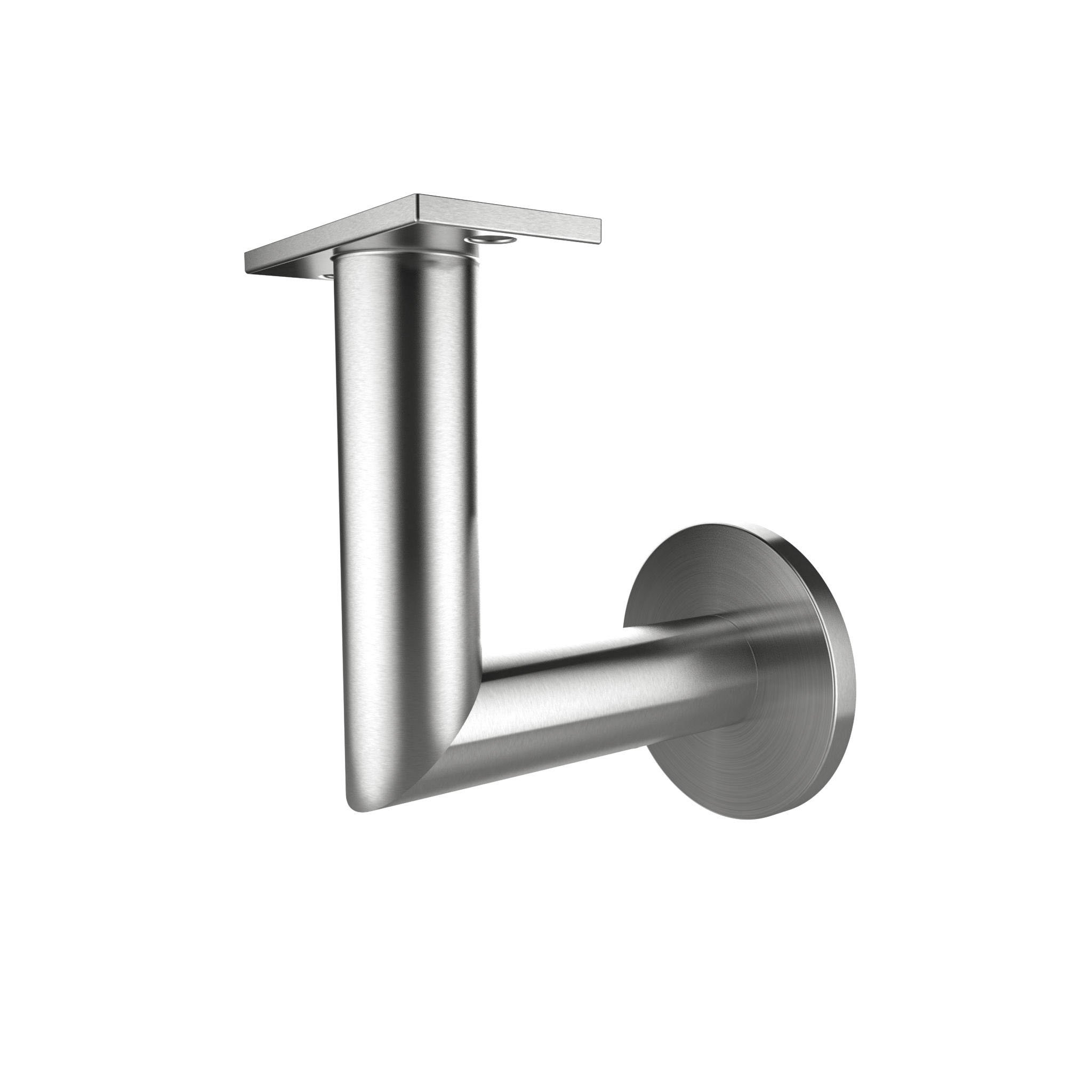 Stainless Steel Handrail Wall Bracket Luminous Quasar (Mounting Surface: Wood or Sheet Rock)