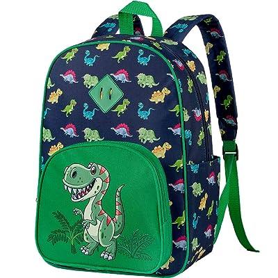 """Preschool Backpack, 15"""" Dinosaur Backpacks for Boys: Baby"""