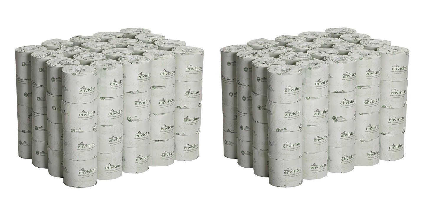 Georgia Pacific Professional 1988001 Bathroom Tissue, 550 Sheets Per Roll (Case of 80 rolls) (2 PACK)