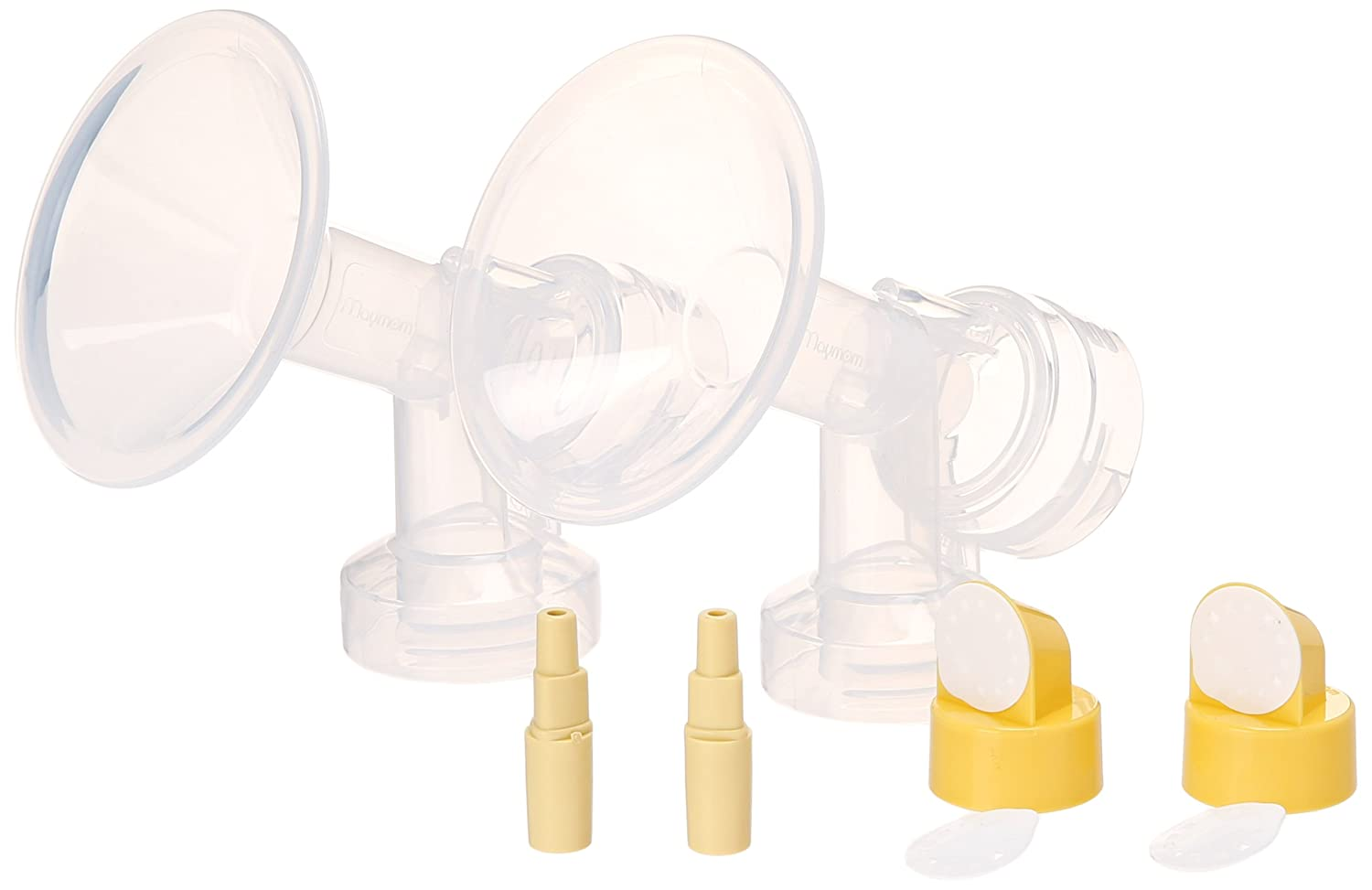Maymom Backflow Adapter for Spectra S1, Spectra S2, Spectra 9, 9Plus Pump; Spectra Adapter to Use Medela Flanges and Bottles