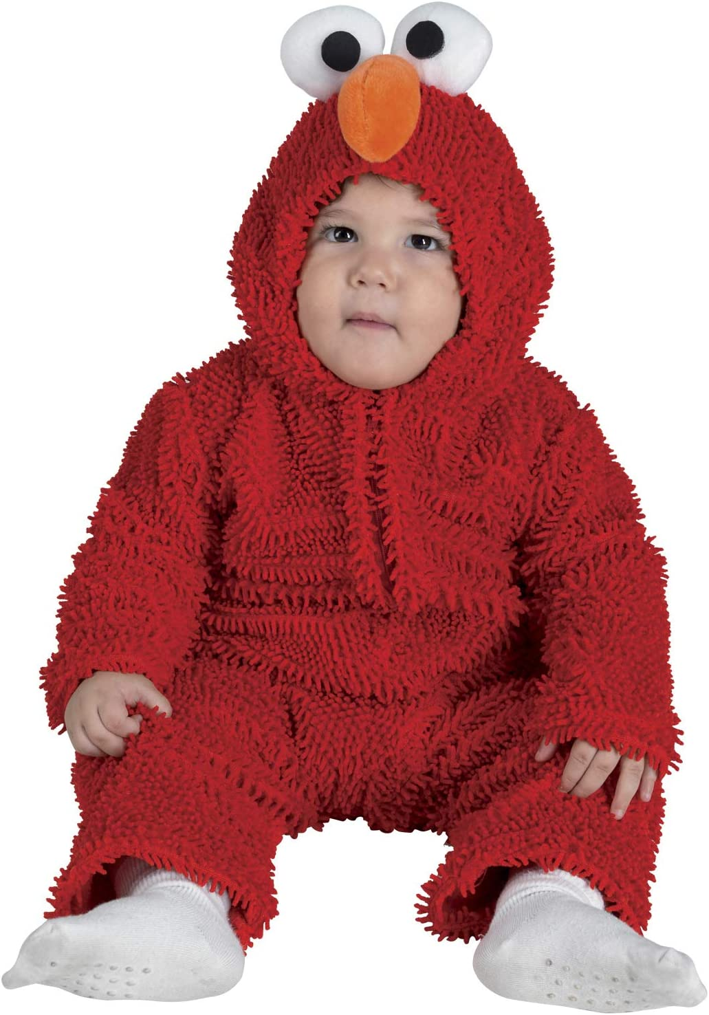chiber Disfraces Disfraz Bebe Monstruito Rojo (92 cm. (12-24 Meses ...