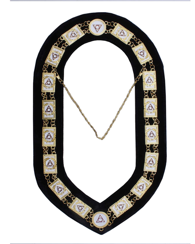 Masonic Regalia LOCOP Chain Collar Metal Golden Top Quality 70%OFF