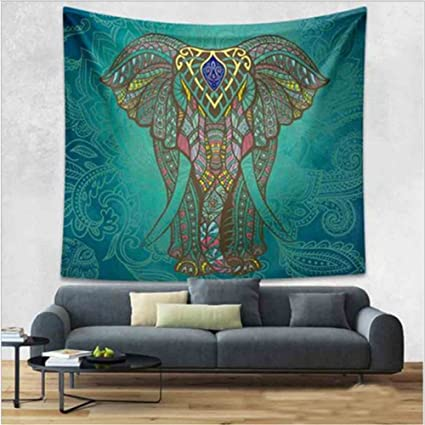 Amazon.com: Wall-mounted tapestry digital printing beach carpet home ...