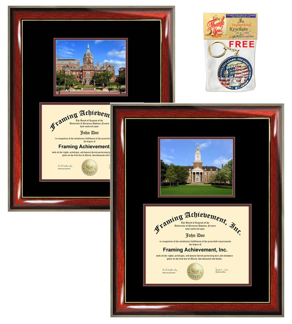 Amazon.com - Johns Hopkins University Diploma Frame Graduation Gift ...