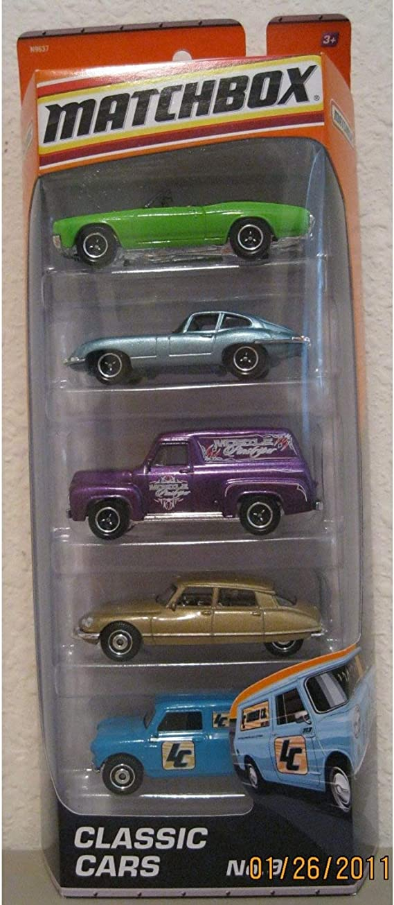2013 Matchbox On A Mission City Works 5-Pack