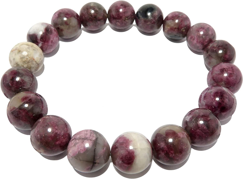 women gift Charoite Grade A fine bracelet black tourmaline birthday amethyst and phrenite