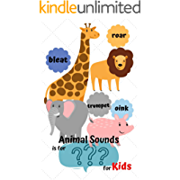 Animals  Sounds Is For ??? For Kids: Book for Ages 1-5 for Kids, Toddlers, Boys, Girls, Kids, preschool&Kindergarten,Guessing Game, word Guessing Game,Picture ... (Guessing Game for kids 3) (English Edition)