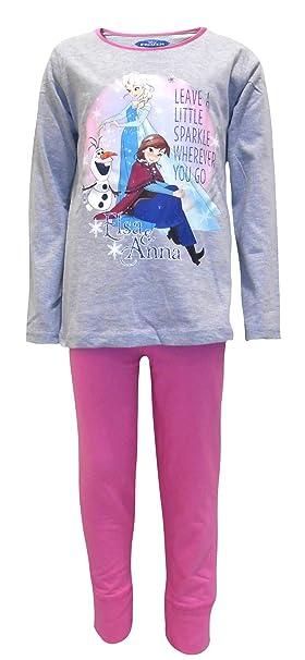 "Disney Frozen ""Sparkle"" Pijamas Niñas ..."