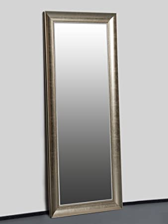 Wandspiegel Gold 150 X 60 Cm Mit Elegantem Und Schlichtem Rahmen