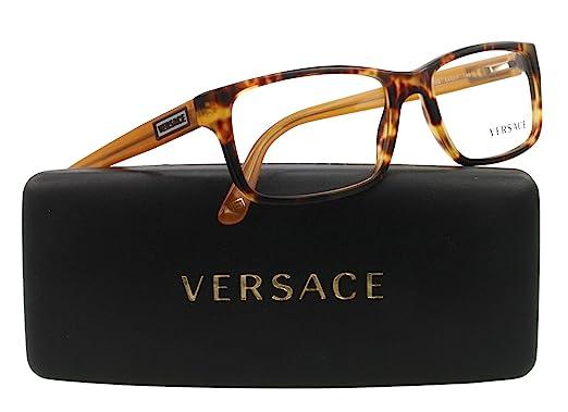 1ec9482e9f3 Versace Eyeglasses VE 3154 TORTOISE 954 54MM VE3154  Amazon.co.uk  Clothing