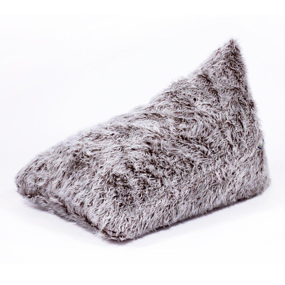 Fatsak Flipsak Bag Cover Flokati Grau Amazonde Küche