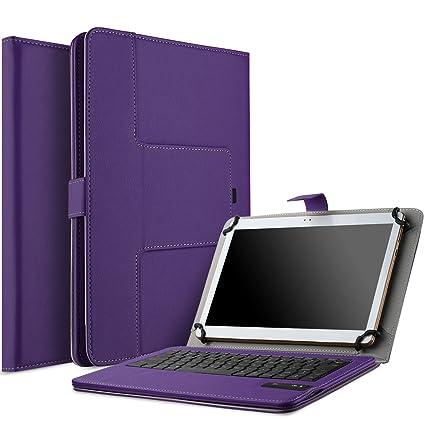 IVSO Lenovo Yoga Tab 3 Pro 10.1 Teclado Bluetooth Caso – Teclado Bluetooth Desmontable, Función Atril/Cover para Lenovo Yoga Tab 3 Pro 10.1-Inch ...