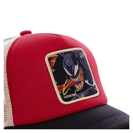 a8fb89f48a0b Capslab Gorra Venom Marvel Original: Amazon.es: Ropa y accesorios
