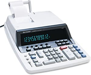 Sharp SHRQS2760H QS-2760H Two-Color Ribbon Printing Calculator