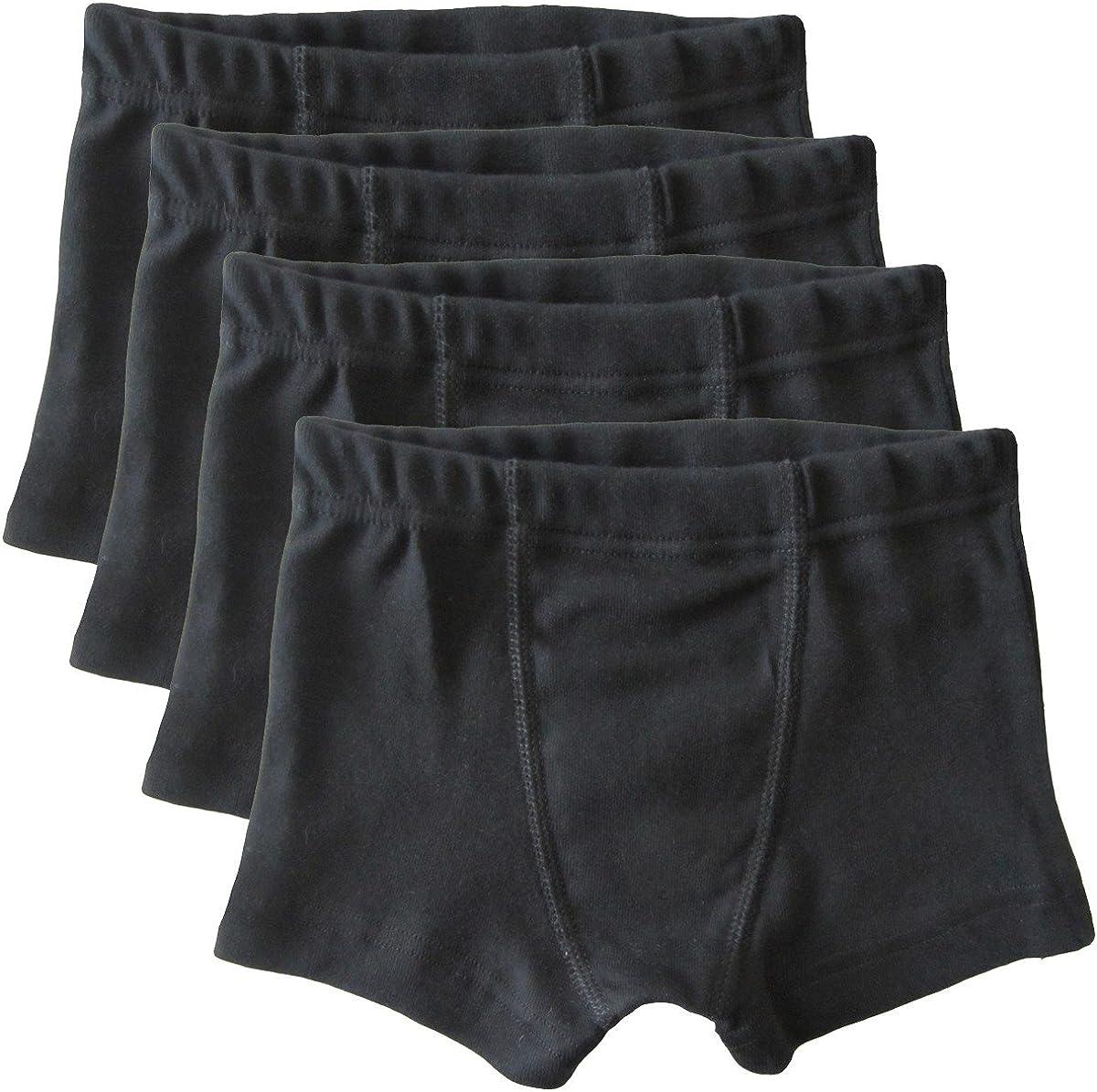HERMKO 2900-4 Pairs of Boys Boxer Shorts 100/% Cotton