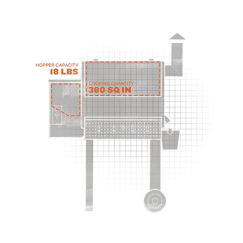 amazon com traeger grills tfb38tca renegade elite wood pellet rh amazon com Traeger Lil' Tex Grill Wiring-Diagram Traeger Texas Wiring-Diagram