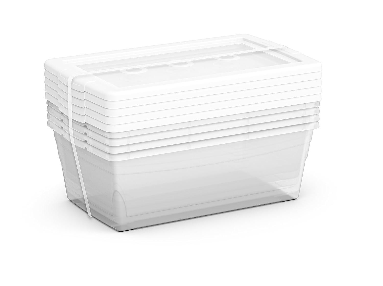 Amazon.com KIS Clear Omni Accessory Box 2.2-Quart/2.1-Liter (20-Pack) Home u0026 Kitchen  sc 1 st  Amazon.com & Amazon.com: KIS Clear Omni Accessory Box 2.2-Quart/2.1-Liter (20 ...