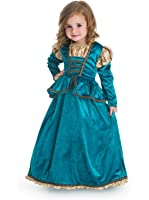 Little Adventures Scottish Princess Dress Up Costume for Girls