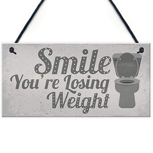 Kue Herp Losing Weight Novelty Funny Bathroom Toilet WC Door ...