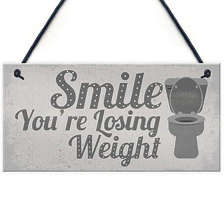 Wild boy Smile YouRe Losing Weight Cartel de Madera Arte ...