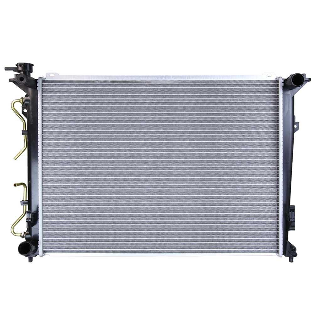 Prime Choice Auto Parts RK1135 Complete Aluminum Radiator