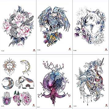 Pegatinas para tatuajes, Pegatinas temporales para tatuajes ...