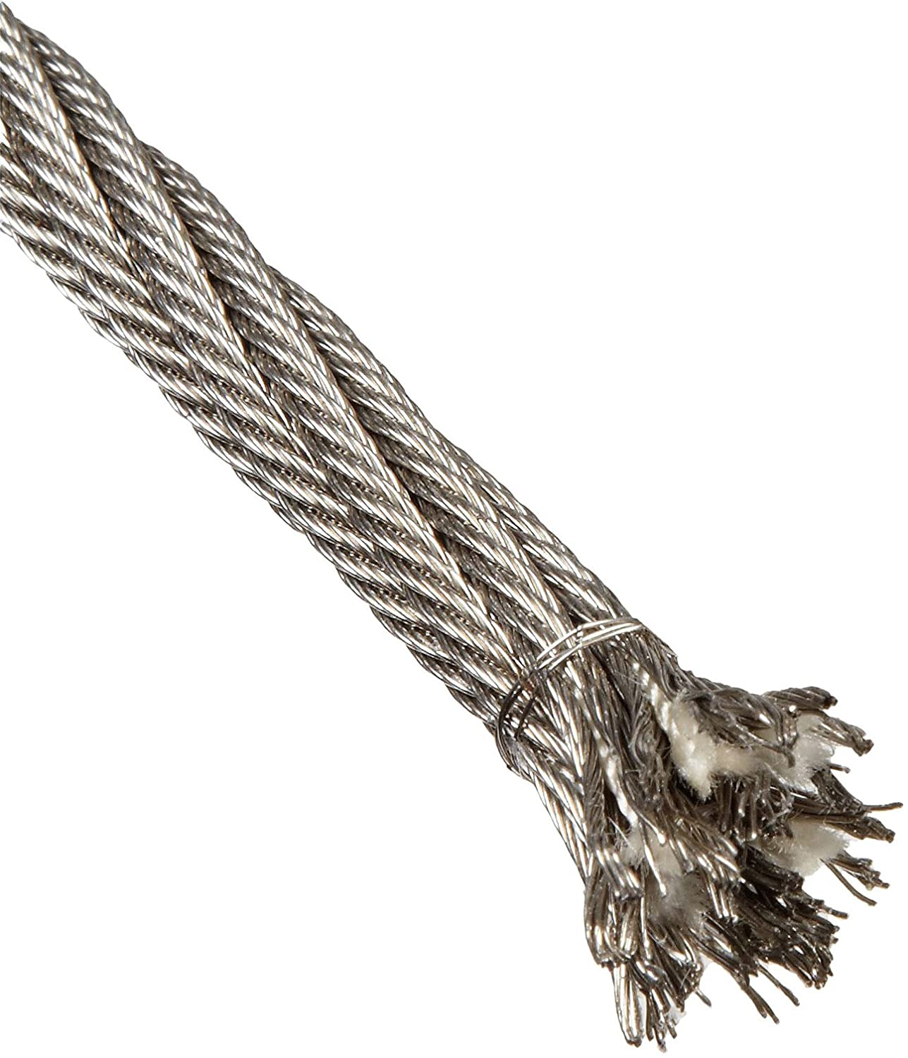 Loos Stainless Steel 302/304 Wire Rope, 6x42 Fiber Core: Cable And ...