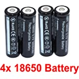 4pcs for LED Flashlight Torch Lamp Torch