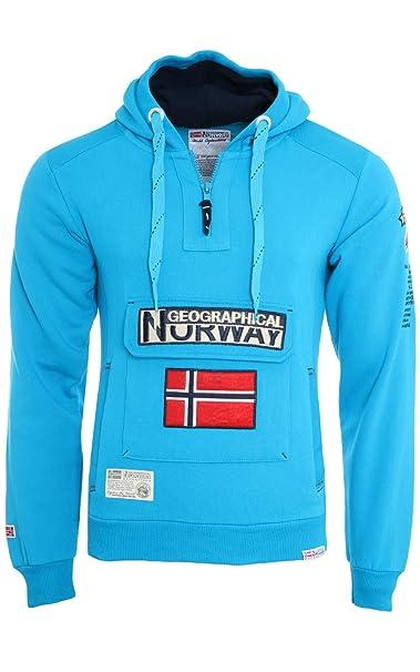 G. NORWAY SUDADERA GYMCLASS Hombre Color turquesa talla: Medium: Amazon.es: Ropa y accesorios