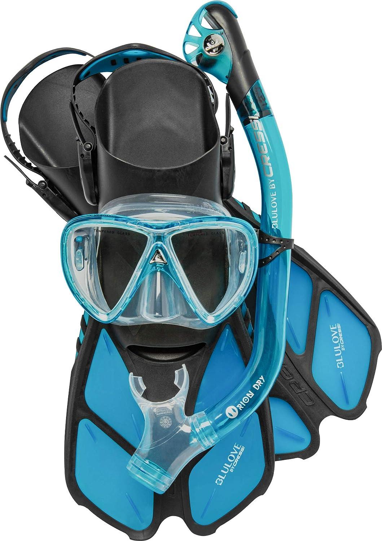 Cressi Bonete Snorkel Set