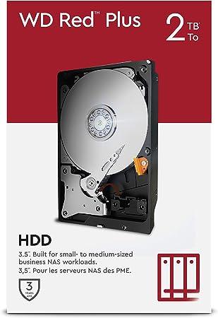 Wd Red Plus 2 Tb Nas 3 5 Interne Festplatte 5 400 Computer Zubehör