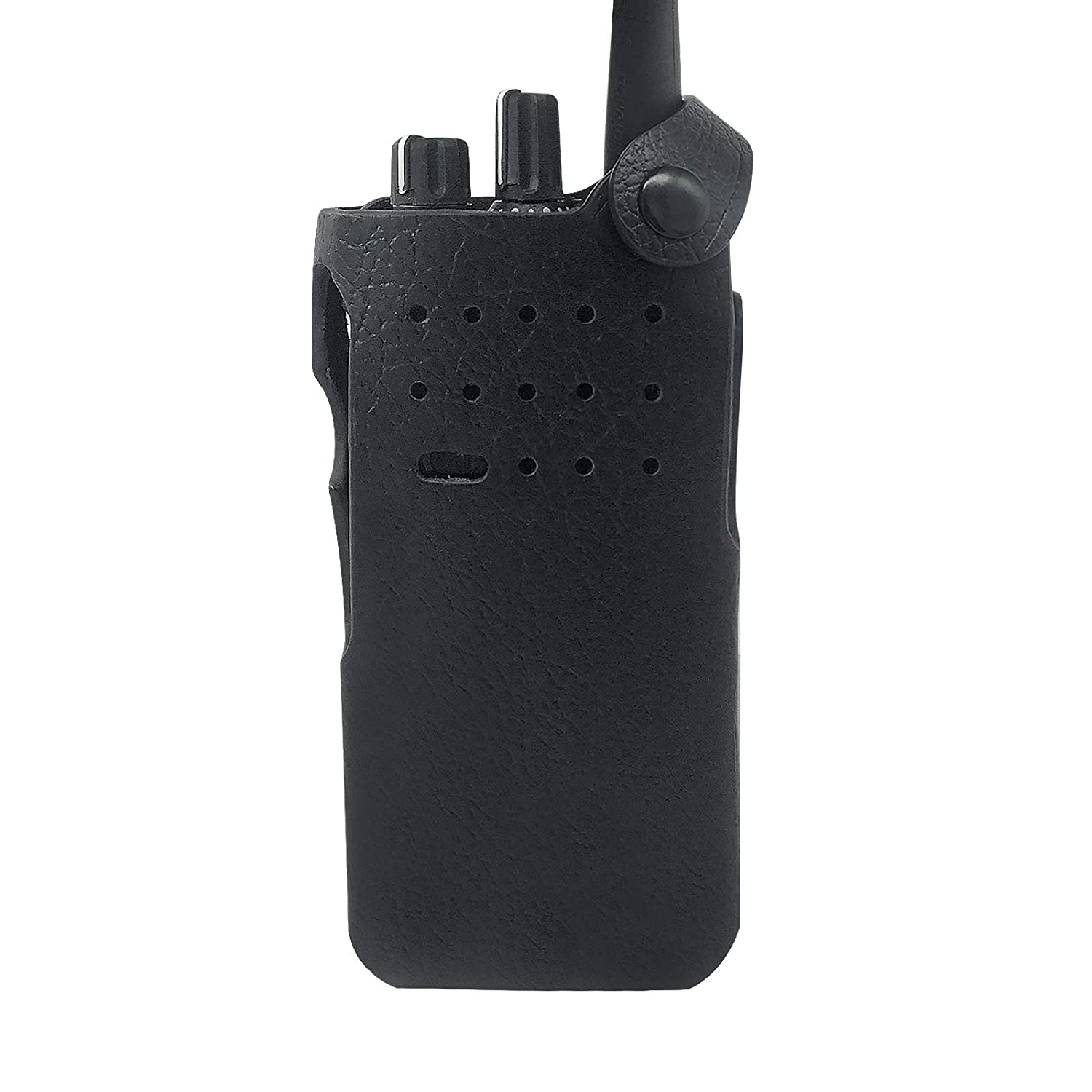 Amasu PMLN5839 Hard Leather Carry Case for Motorola XPR 7000 XPR7000e Series Radio