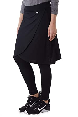 f4cbf36141 Amazon.com: Snoga Full-Coverage Tulip Skirt with Attached Ankle Leggings:  Clothing