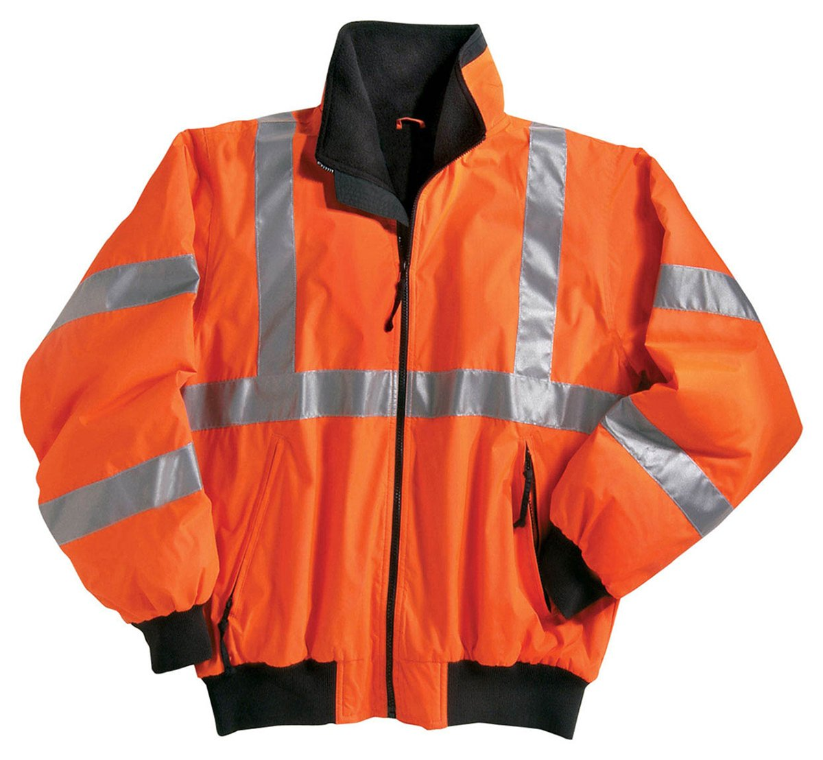 Tri-Mountain Men's 8830 District Safety Jacket